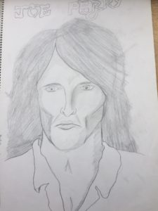 "Joe Perry - ""Before"" 1996 sketch"
