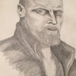 Black Sails Flint sketch